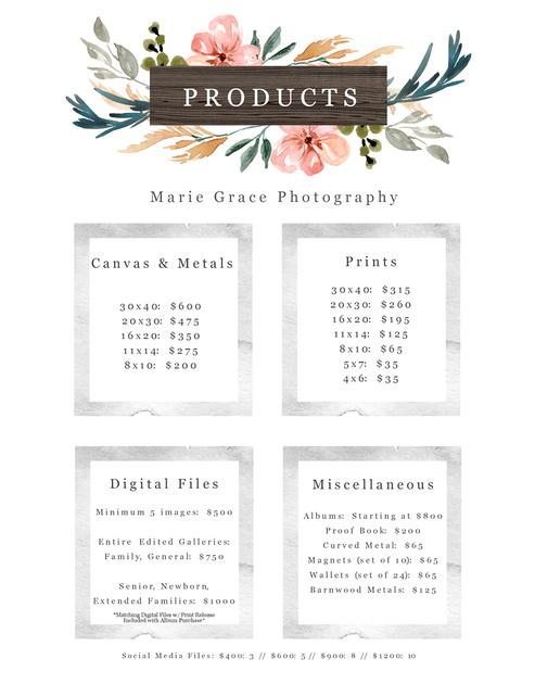 Pricing Sheet - 2